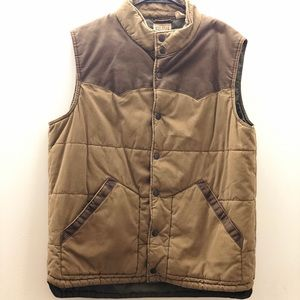 Redhead Men's Quilted Vest.